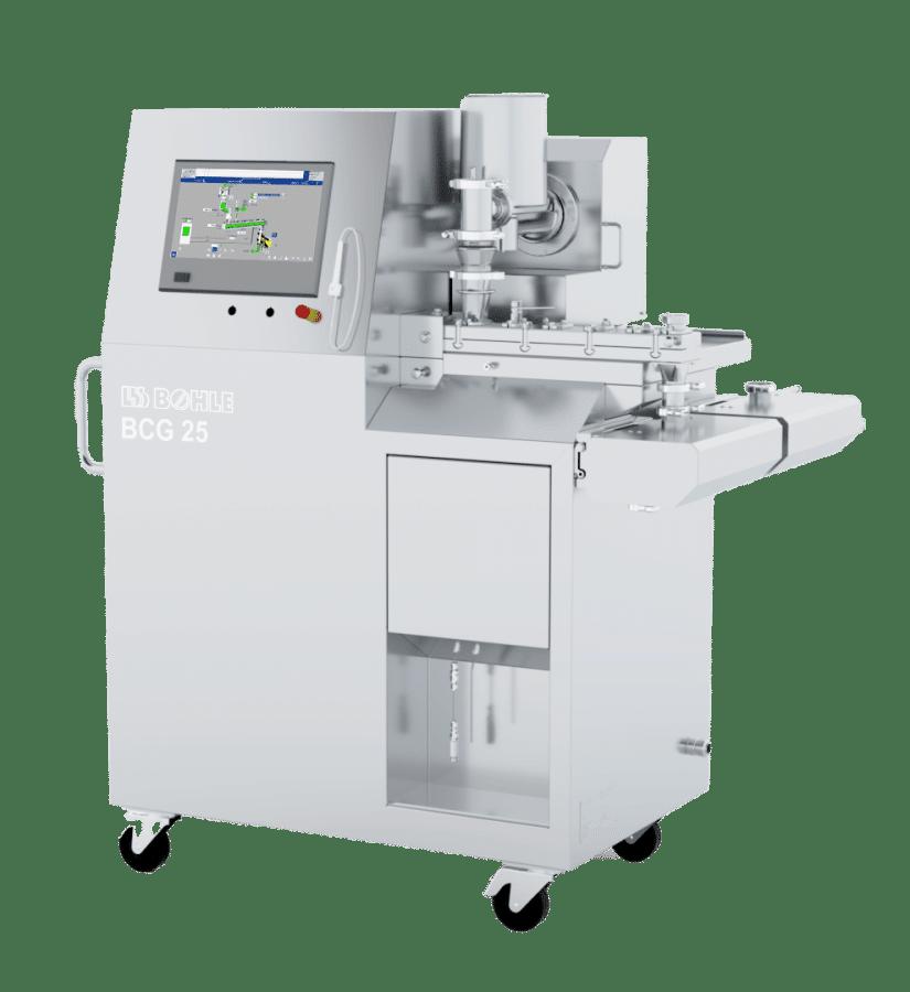 Непрерывное гранулирование при производстве таблеток: Гранулирование с помощью двухшнекового гранулятора от L.B. Bohle