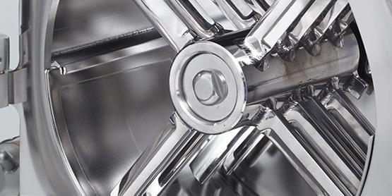 Молотковая мельница: вид в размольную камеру молотковой мельницы BTM