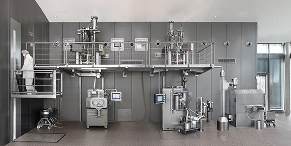 QbCon: Непрерывное изготовление от порошка к покрытой таблетке сухим гранулированием