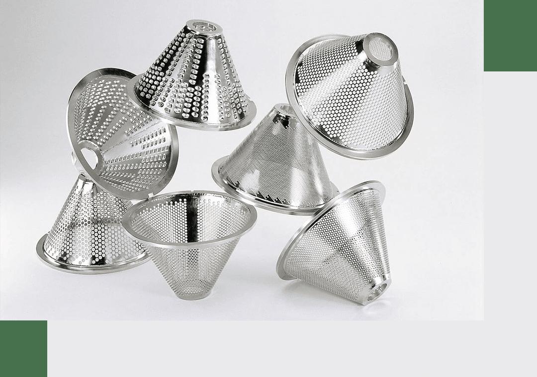 Запасные части от L.B. Bohle: здесь различные размеры фильтрующих вставок