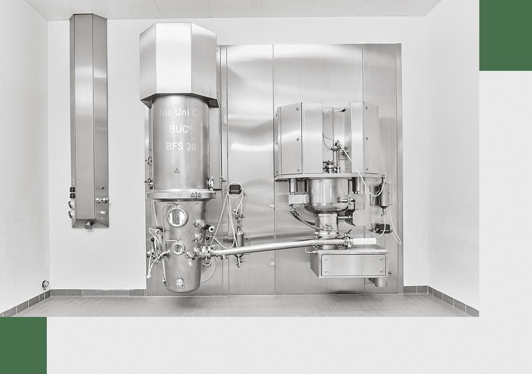 Оборудование б/у: L.B. Bohle предлагает подержанные и проверенные технологические машины для производства твердых фармацевтических веществ.
