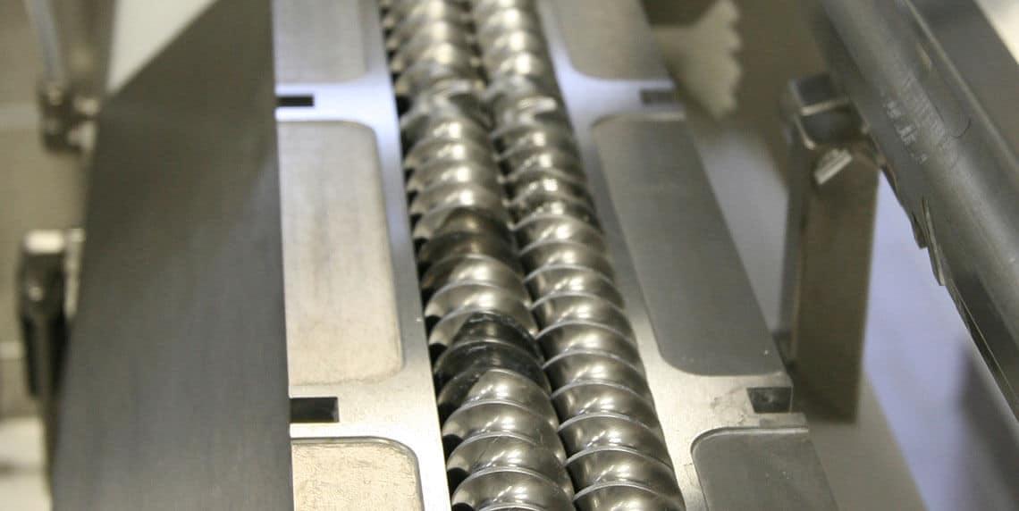 Двойное шнековое гранулирование: детальный просмотр шнеков