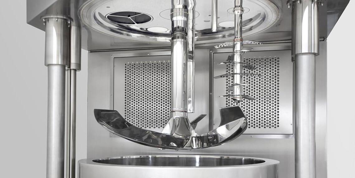 Гранулирование с помощью однокамерного гранулятора / однокамерного гранулятора
