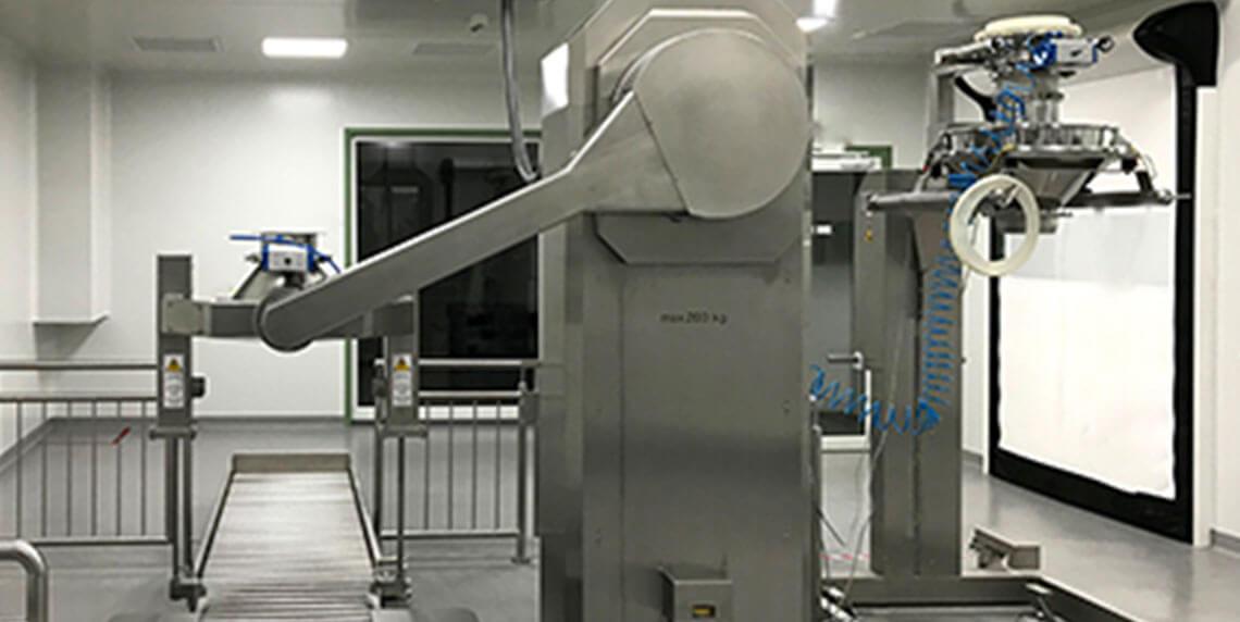 Системы перемещения для фармацевтической промышленности: автоматизированные системы перемещения барабанов