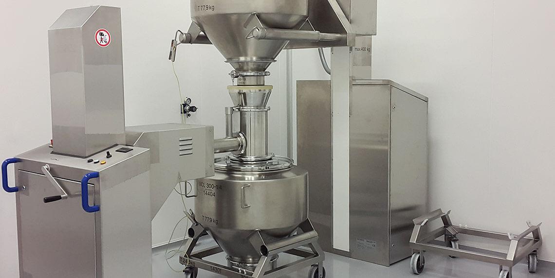 Системы обработки для фармацевтической промышленности: контейнерные смесители, просеивающие установки и контейнеры