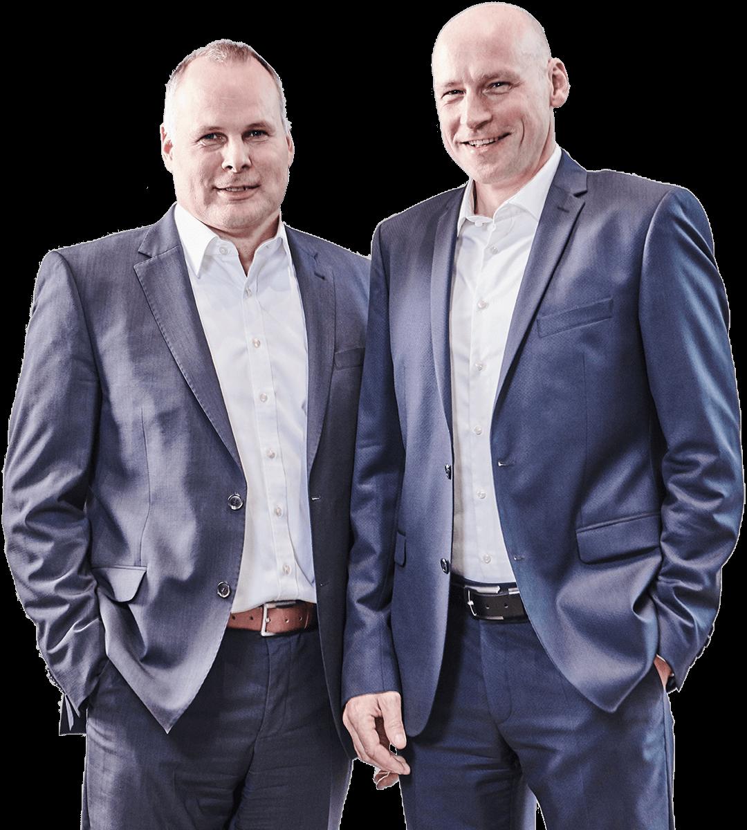 L.B. Bohle Управляющий директор Германия: Tim Remmert (вправо) и Thorsten Wesselmann